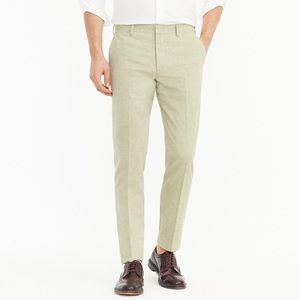 NWT J. Crew Ludlow Slim-fit Unstructured Suit Pant